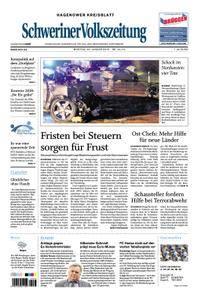 Schweriner Volkszeitung Hagenower Kreisblatt - 29. Januar 2018