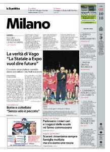 la Repubblica Milano - 8 Ottobre 2018