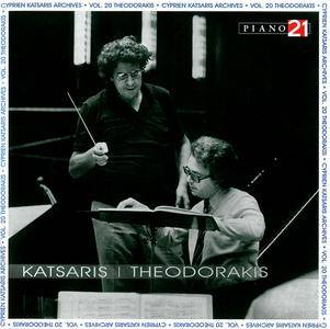 Cyprien Katsaris - Mikis Theodorakis: Works for Piano & Orchestra (2010) 2CDs [Cyprien Katsaris Archives Vol. 20]