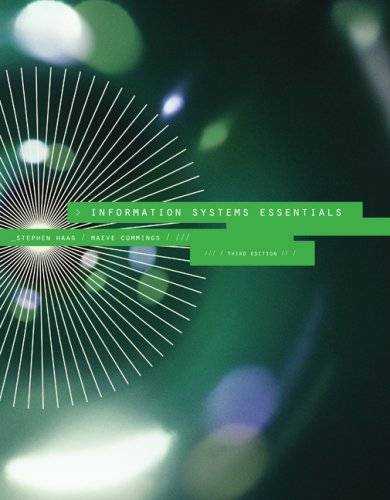 Information Systems Essentials [Repost]