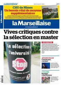 La Marseillaise Languedoc du Mardi 7 Février 2017