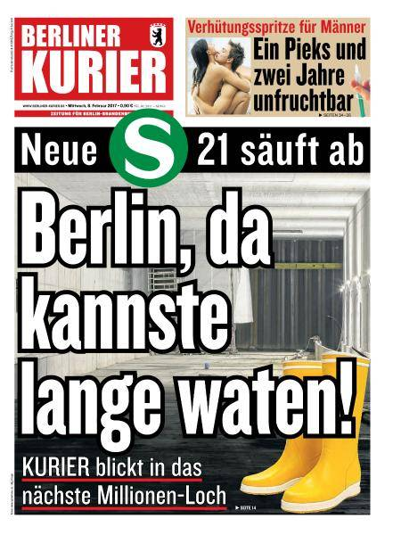 Berliner Kurier - 8 Februar 2017