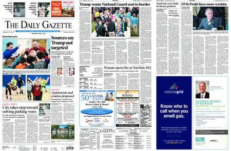 The Daily Gazette – April 04, 2018