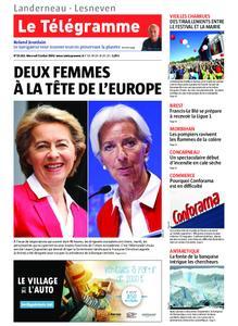 Le Télégramme Landerneau - Lesneven – 03 juillet 2019