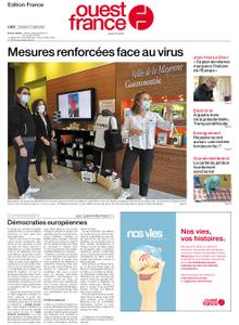 Ouest-France Édition France – 17 juillet 2020