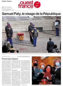 Ouest-France Édition France – 22 octobre 2020