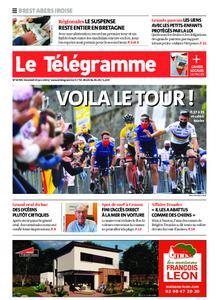 Le Télégramme Brest Abers Iroise – 25 juin 2021