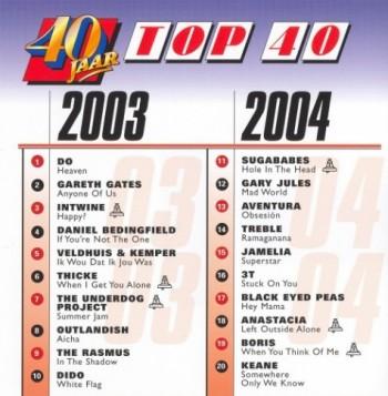 40 Jaar Top 40 2003-2004