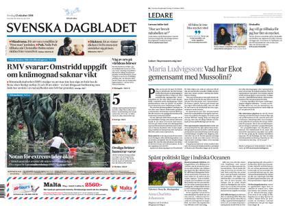 Svenska Dagbladet – 12 oktober 2018