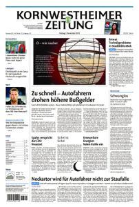 Kornwestheimer Zeitung - 02. November 2018