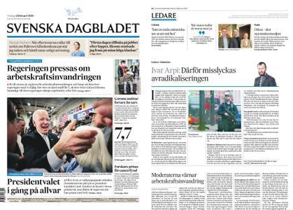Svenska Dagbladet – 04 februari 2020