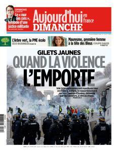 Aujourd'hui en France du Dimanche 25 Novembre 2018
