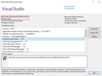 Microsoft Visual Studio 2017 version 15 8 0 / AvaxHome