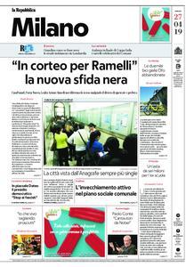 la Repubblica Milano – 27 aprile 2019