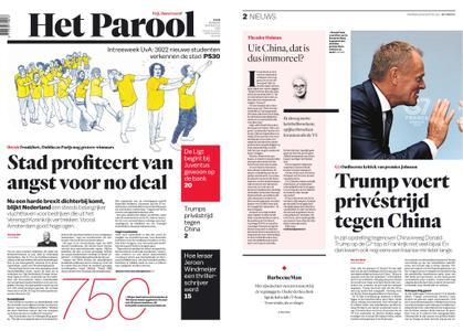 Het Parool – 26 augustus 2019