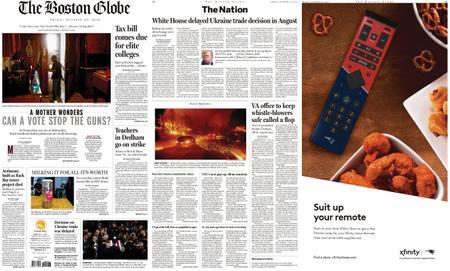 The Boston Globe – October 25, 2019