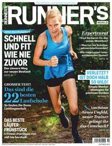Runner's World Deutschland - Oktober 2019