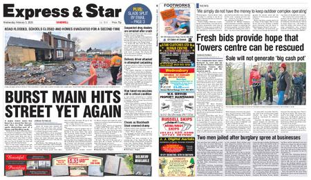 Express and Star Sandwell Edition – February 05, 2020