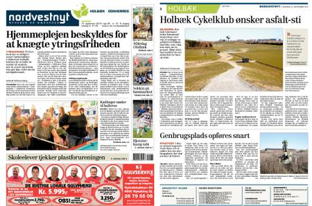 Nordvestnyt Holbæk Odsherred – 16. september 2019