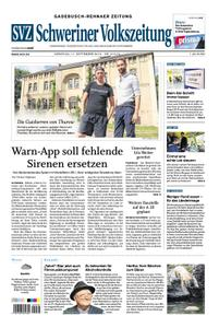 Schweriner Volkszeitung Gadebusch-Rehnaer Zeitung - 17. September 2019