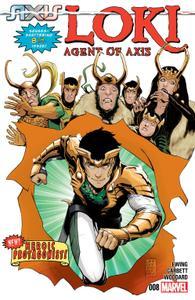 AXIS series 2867 040 Loki-Agent of Asgard 008 2014 Digital Zone