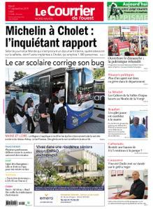 Le Courrier de l'Ouest Nord Anjou – 17 septembre 2019