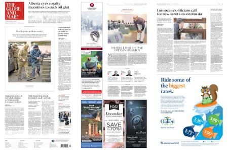 The Globe and Mail – November 28, 2018
