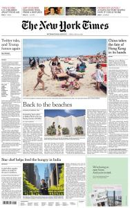International New York Times - 29 May 2020