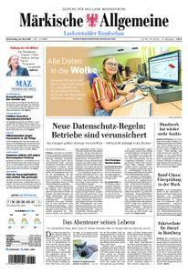 Märkische Allgemeine Luckenwalder Rundschau - 24. Mai 2018
