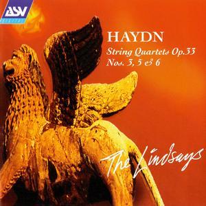 The Lindsays - Haydn: String Quartets Op. 33 Nos. 3, 5 & 6 (1996)