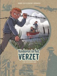 """Strip - """"Kinderen In Het Verzet - 05 - Een Verscheurd Land cbr"""
