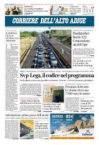 Corriere dell'Alto Adige – 29 novembre 2018