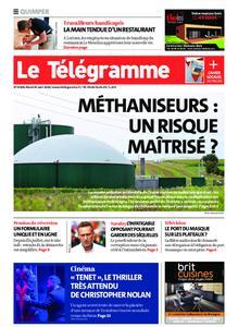 Le Télégramme Quimper – 25 août 2020