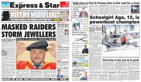 Express and Star City Edition – September 23, 2017