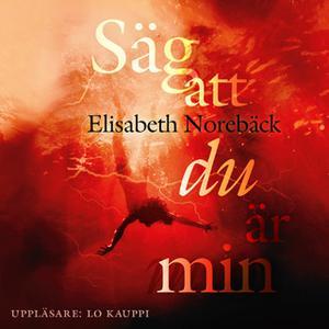 «Säg att du är min» by Elisabeth Norebäck