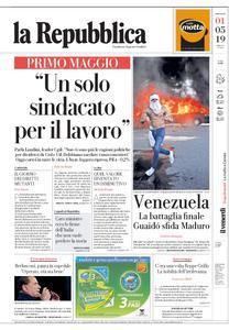 la Repubblica – 01 maggio 2019