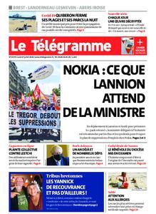 Le Télégramme Brest Abers Iroise – 27 juillet 2020