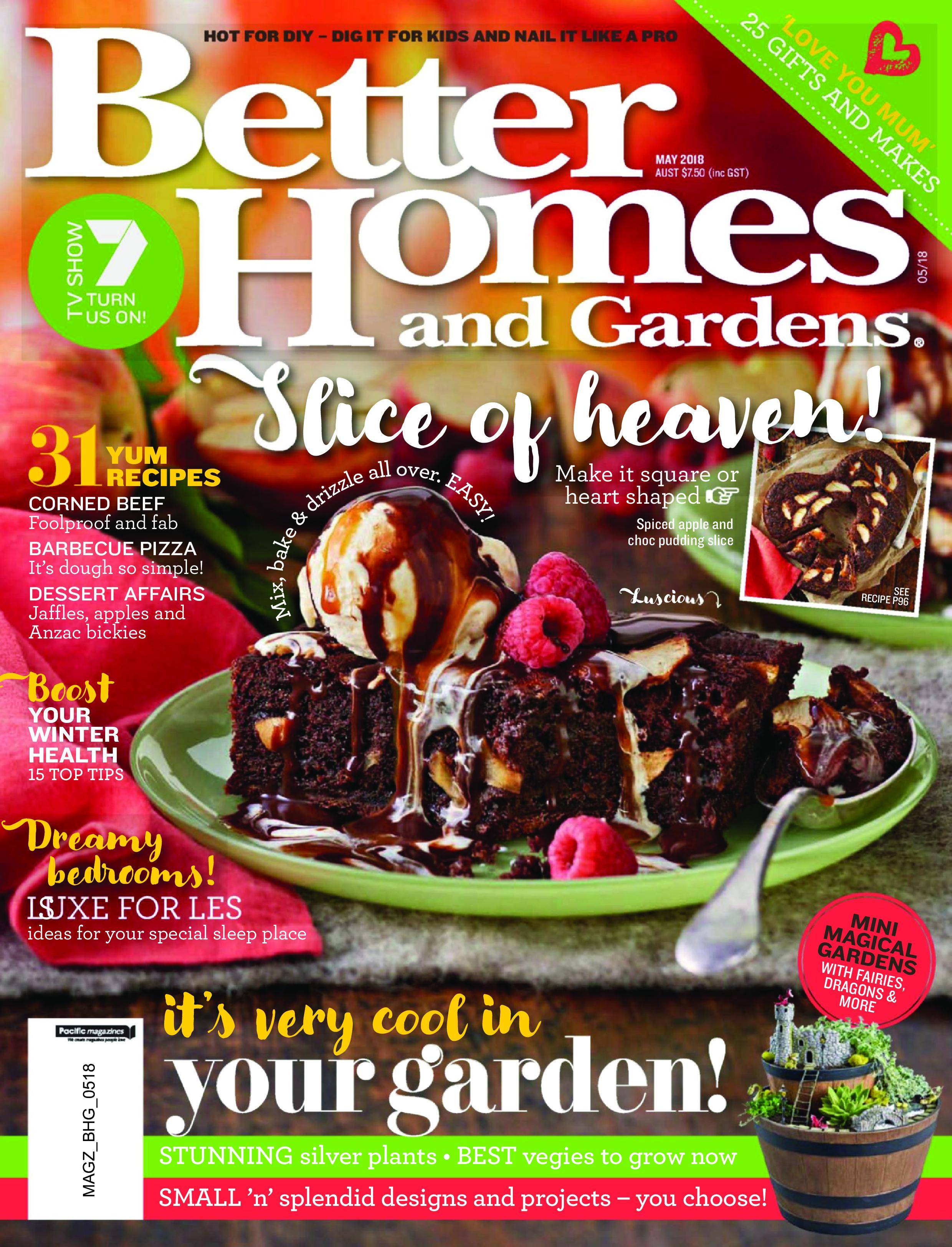 Better Homes and Gardens Australia - June 2018