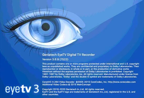 EyeTV 3 6 9 (7524) macOS / AvaxHome