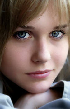 Improbably beautiful eyes