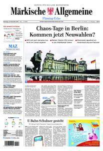 Märkische Allgemeine Fläming Echo - 21. November 2017