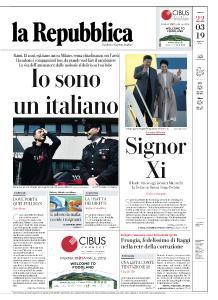 la Repubblica - 22 Marzo 2019