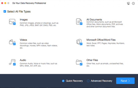 Do Your Data Recovery Professional 6.0 Mac OS X
