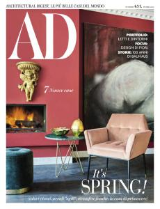 AD Architectural Digest Italia N.451 - Marzo 2019