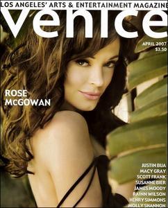 Rose McGowan - Venice Magazine April 2007