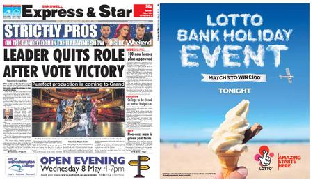 Express and Star Sandwell Edition – May 04, 2019