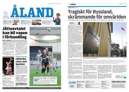 Ålandstidningen – 26 mars 2018