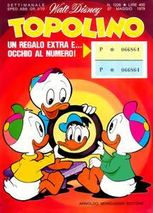Topolino 1226 - Topolino e i segreti di casa diavolo (p.2) (05-1979)