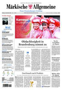 Neue Oranienburger Zeitung - 12. November 2018