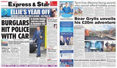 Express and Star City Edition – November 06, 2017